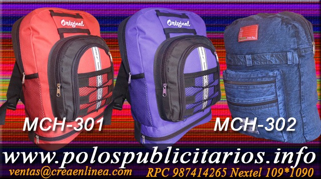 Mochilas Escolares por Mayor